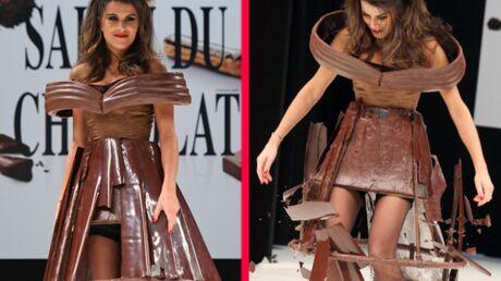 DIAPO Karine Ferri: drame au Salon du chocolat