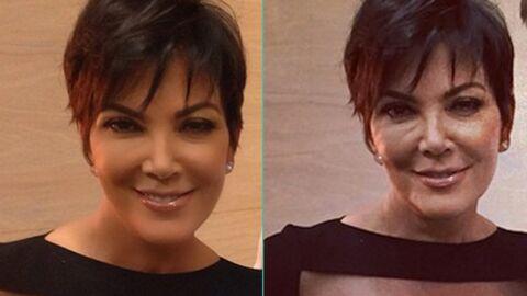 PHOTOS Kris Jenner prise en flagrant délit de Photoshop