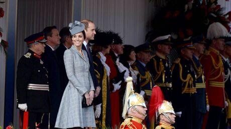 PHOTOS La première sortie officielle de Kate Middleton enceinte