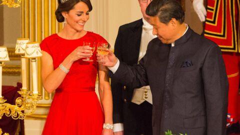 DIAPO Kate Middleton: en robe et diadème, elle était sublime pour son premier banquet d'Etat