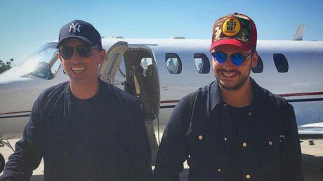 PHOTO À Bruxelles pour leur spectacle, Gad Elmaleh et Kev Adams reçoivent la visite de Stromae