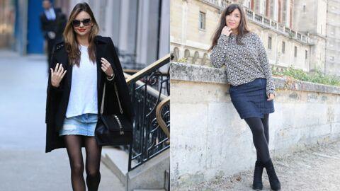 6c5e71da928c9 Le shopping de Marieluvpink   la jupe en jean pour l automne comme Miranda  Kerr