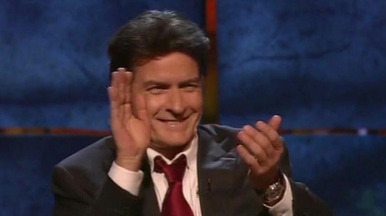 Charlie Sheen fait la bringue pour son enterrement