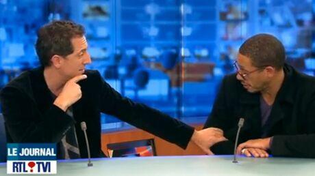 VIDEO Vexé, JoeyStarr s'énerve contre un présentateur de JT
