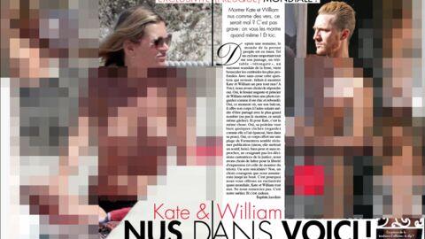 Kate topless et William intégralement nu dans Voici!