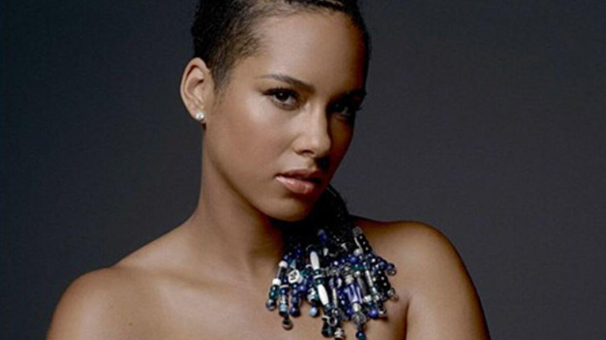 PHOTO Alicia Keys nue et enceinte sur Instagram pour la bonne cause
