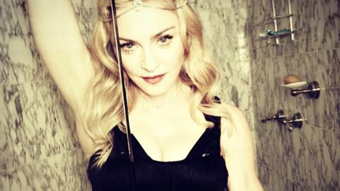 VIDEO Madonna totalement fan de son fils David