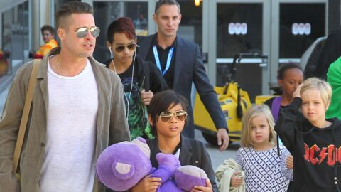 Brad Pitt va se battre pour obtenir la garde partagée de ses six enfants