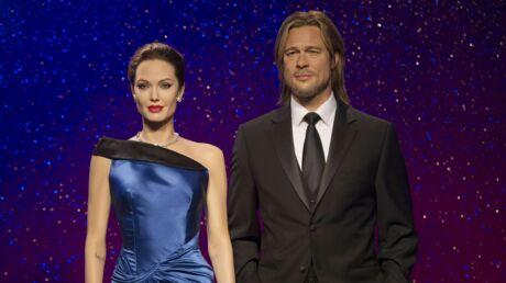 Brad Pitt et Angelina Jolie: Madame Tussauds a déjà séparé leurs statues de cire