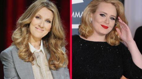 Céline Dion: la plus grande fan d'Adele, c'est elle!