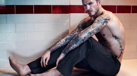 DIAPO David Beckham hyper sexy dans la nouvelle campagne H&M