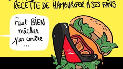Louison a croqué: le hamburger qui déchire tout de Sarah Jessica Parker