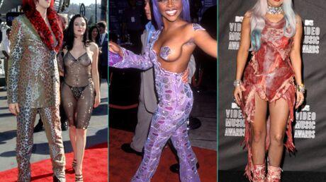 DIAPO Les tenues les plus scandaleuses et étonnantes des MTV Video Music Awards