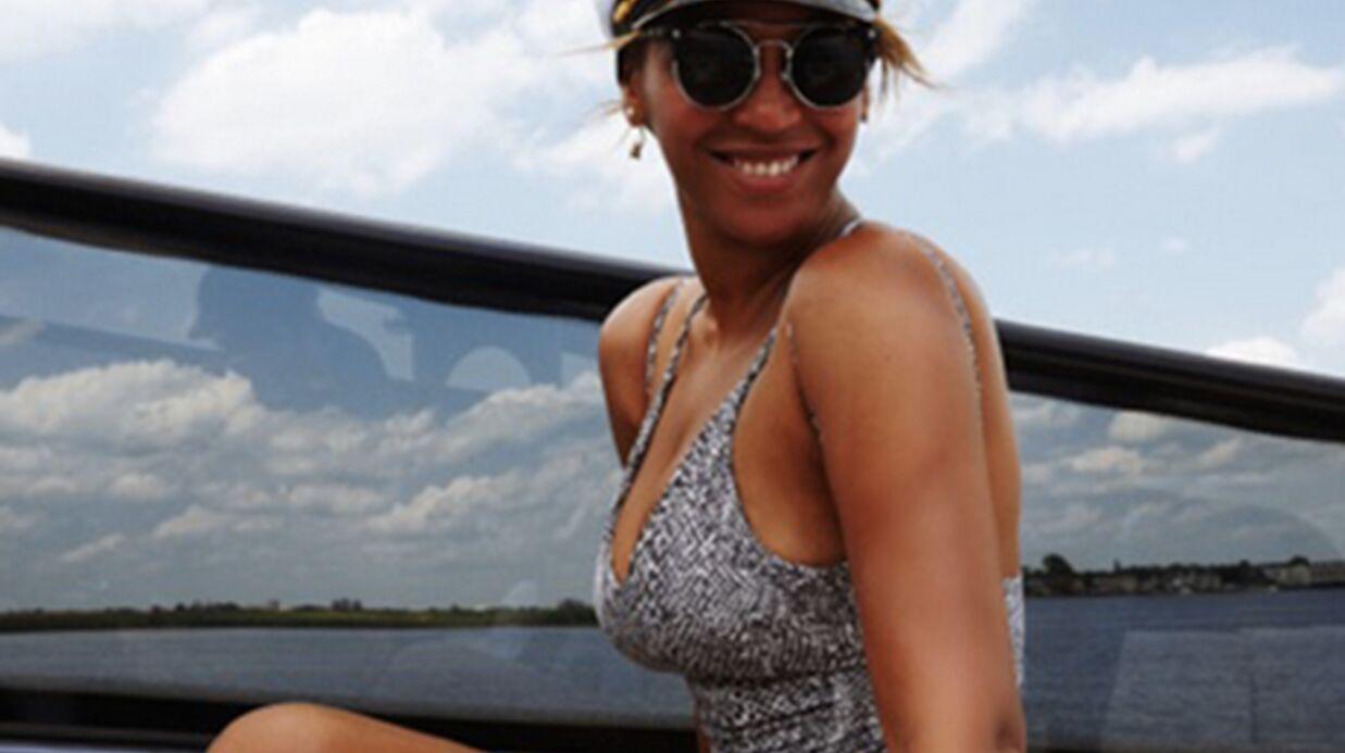 PHOTOS Beyoncé: maillots assortis avec Blue Ivy!