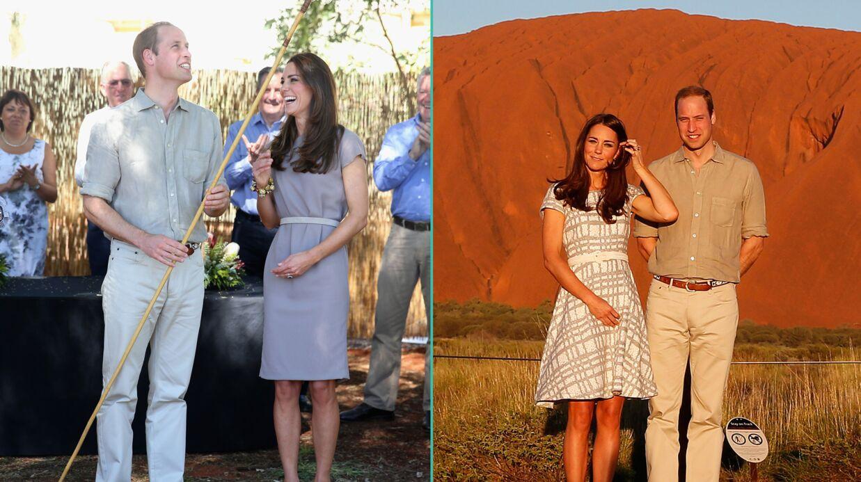 PHOTOS Kate et William découvrent la culture aborigène au cœur de l'Australie