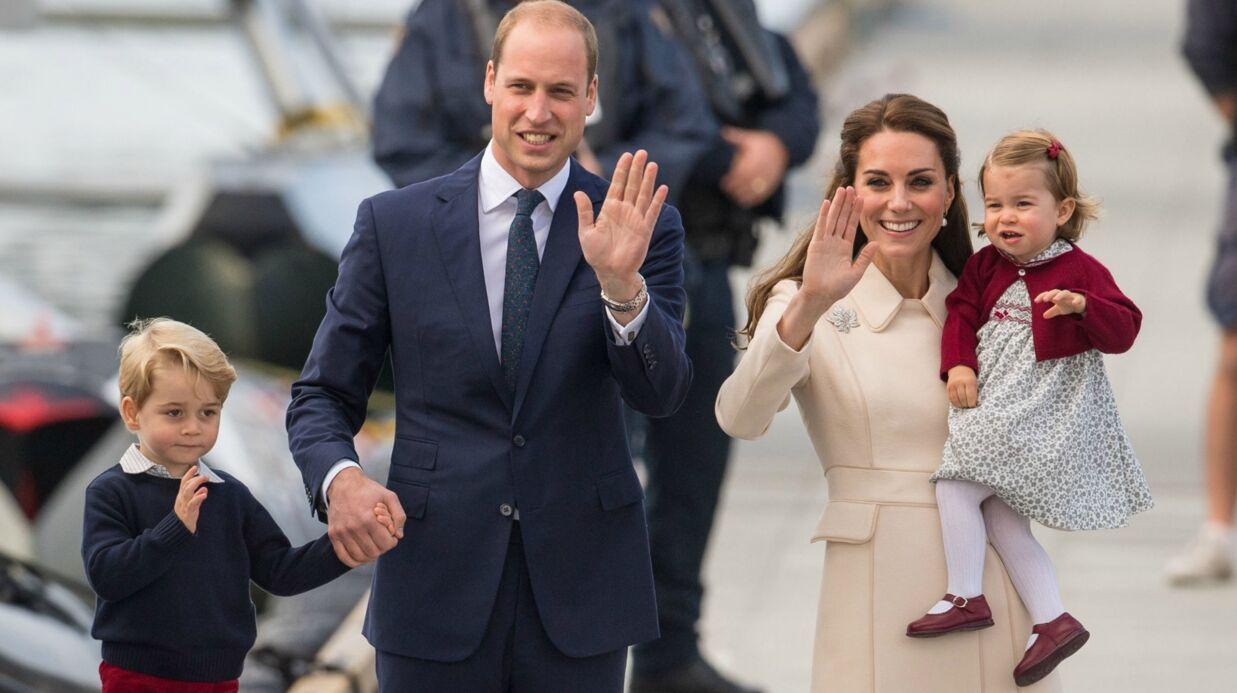 Le prince George et Charlotte ont offert un cadeau «fait maison» à Elizabeth II pour son anniversaire