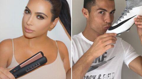 L'énorme somme que touchent Kim Kardashian et Cristiano Ronaldo pour tweeter une pub