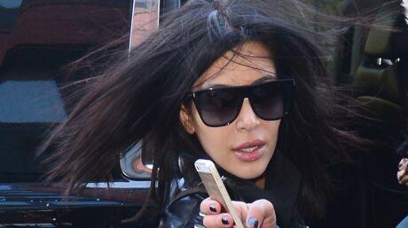 Kim Kardashian victime d'un accident de voiture avec ses sœurs et sa fille