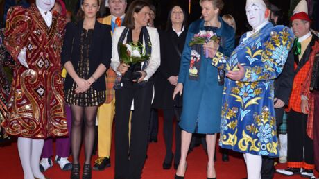 PHOTOS Charlène retrouve le sourire avec Stéphanie de Monaco