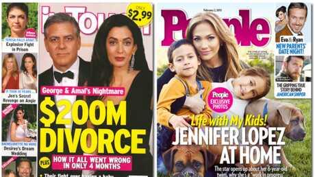 En direct des US: George et Amal Clooney ne se supportent plus