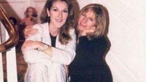 PHOTO Le message touchant de Barbra Streisand à Céline Dion