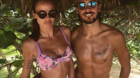 PHOTOS Vanessa Lawrens et Julien Guirado: vacances au paradis pour leurs 2 ans d'amour