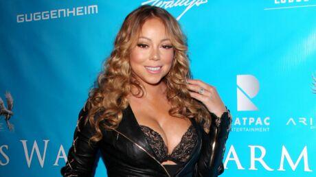 Mariah Carey offre une lap dance TRES sexy à son boyfriend sur scène!