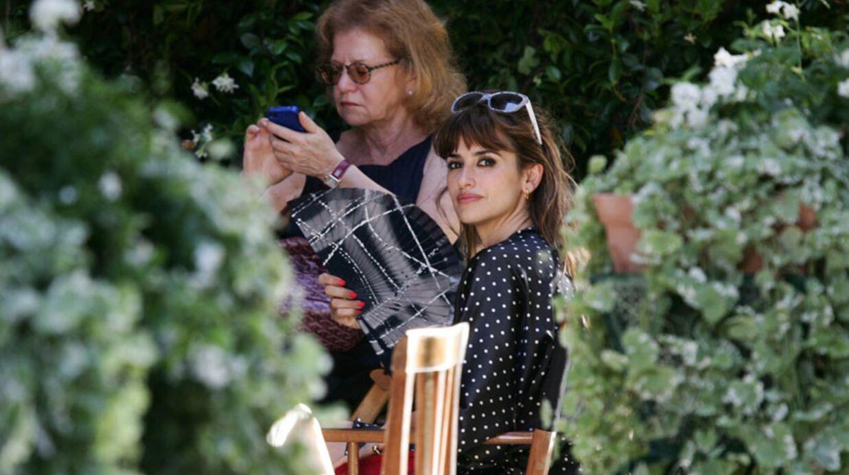 DIAPORAMA Penelope Cruz sur le tournage du dernier Woody Allen
