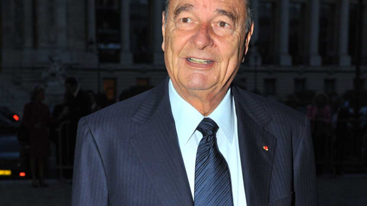François Hollande rend une visite de courtoisie à Jacques Chirac