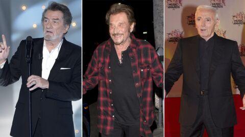 Johnny Hallyday, Charles Aznavour, Eddy Mitchell: subventionnés par un fonds d'aide aux «jeunes créateurs»