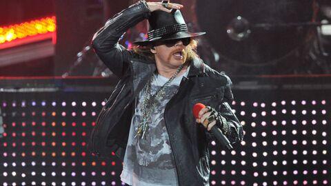 VIDEO Gros gadin d'Axl Rose (Guns N'Roses) en plein concert