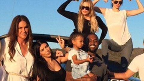 PHOTOS Caitlyn Jenner en famille avec Kim Kardashian et Kanye West pour la fête des pères