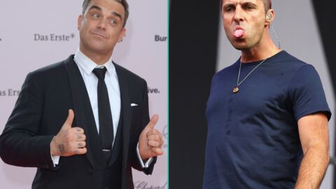 Robbie Williams tacle Liam Gallagher sur ses kilos en trop