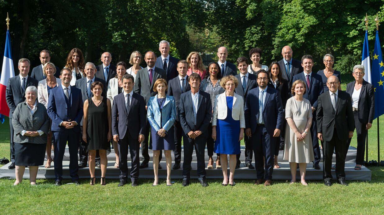 PHOTO Emmanuel Macron n'est pas au premier rang de la nouvelle photo du gouvernement, voici pourquoi