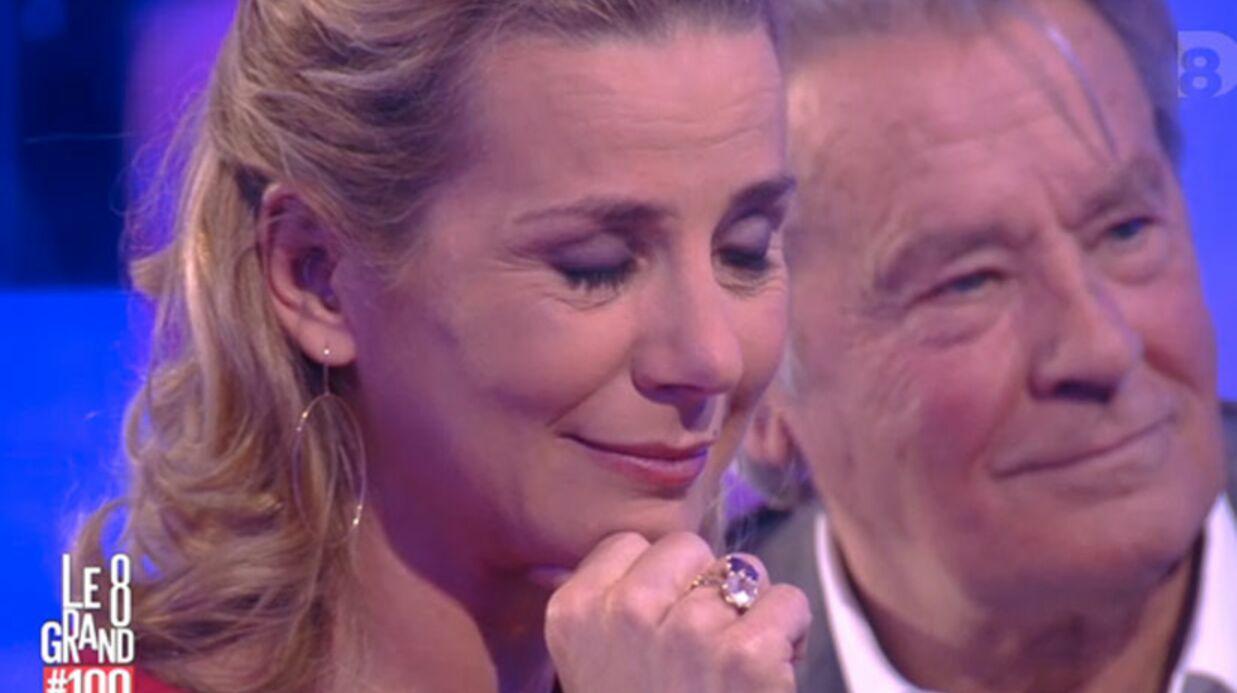 VIDEO Surprise par son mari, Laurence Ferrari fond en larmes