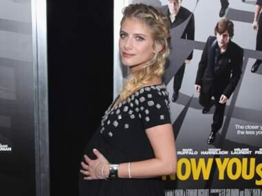 Mélanie Laurent enceinte à l'avant-première de How you see me à New York