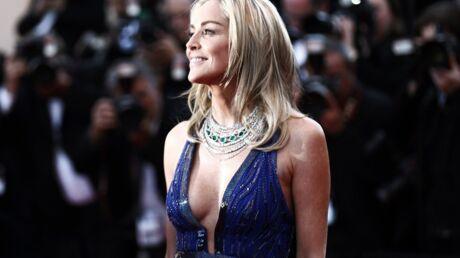 DIAPO Cannes: Sharon Stone décolletée, Adriana Karembeu audacieuse