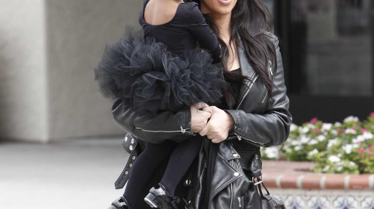 Kim Kardashian: les photos craquantes de sa fille North en petite danseuse