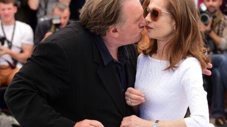 PHOTOS Gérard Depardieu un peu trop câlin avec Isabelle Huppert