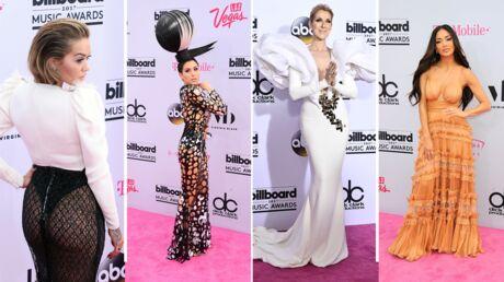 PHOTOS Billboard Music Awards 2017: Rita Ora montre ses fesses, le look audacieux de Céline Dion