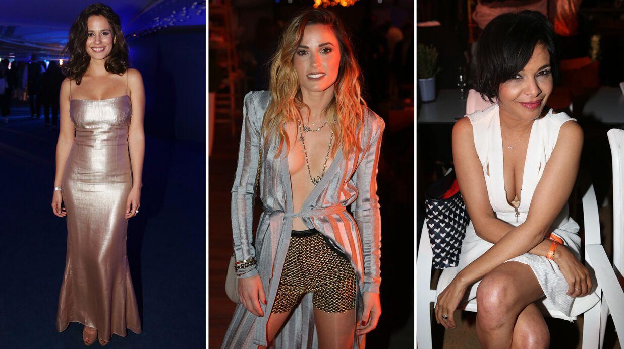 PHOTOS Cannes 2017: Capucine Anav dégaine le décolleté ultra sexy au Majestic