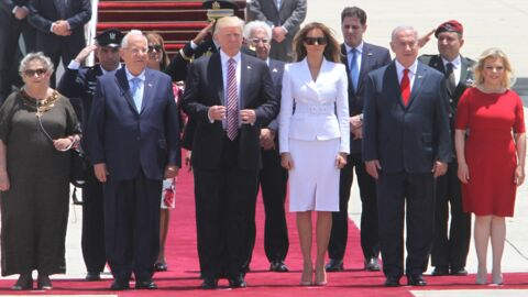 Donald Trump tente un geste tendre vers Melania, elle le rembarre