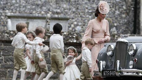 PHOTOS Kate Middleton s'énerve au mariage de sa sœur: George se fait gronder