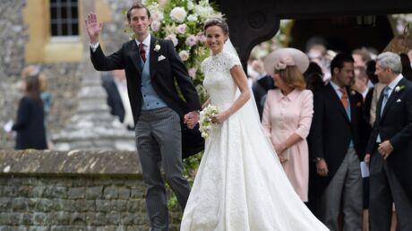 PHOTOS Tout ce qu'il faut savoir sur la magnifique robe de mariée de Pippa Middleton