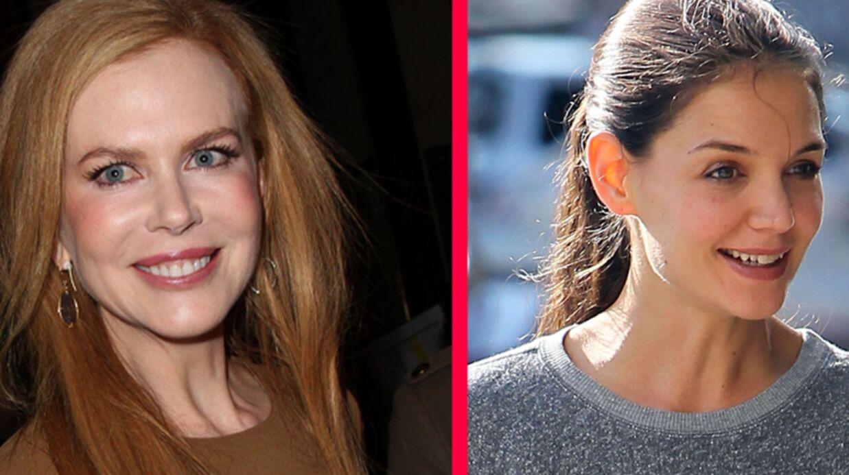 Gros malaise Nicole Kidman et Katie Holmes