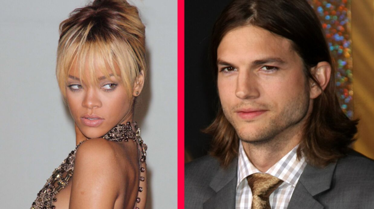 Rihanna a passé la nuit avec Ashton Kutcher