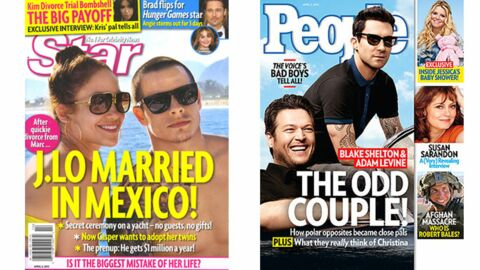En direct des US: Reese Witherspoon est enceinte, Johnny Depp fait son cachotier