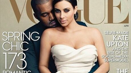 PHOTO Kim Kardashian et Kanye West en couverture de Vogue