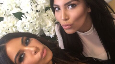 PHOTO Kim Kardashian pose avec son sosie et on ne sait plus qui est qui