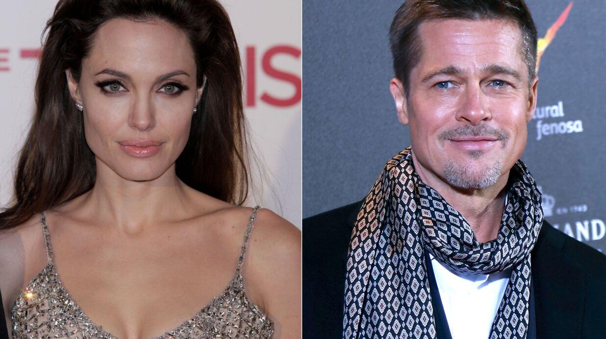 Ça s'arrange entre Brad Pitt et Angelina Jolie, ils se reparlent!